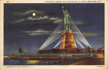 top017199 - Statue of Liberty Post Card