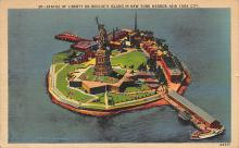 top017201 - Statue of Liberty Post Card