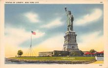 top017203 - Statue of Liberty Post Card