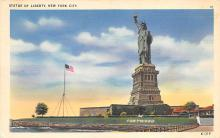 top017205 - Statue of Liberty Post Card