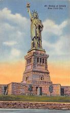 top017207 - Statue of Liberty Post Card