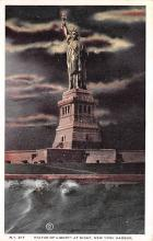 top017211 - Statue of Liberty Post Card