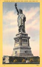 top017215 - Statue of Liberty Post Card
