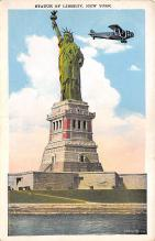 top017225 - Statue of Liberty Post Card