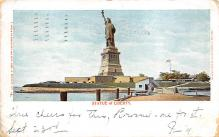 top017243 - Statue of Liberty Post Card
