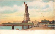 top017251 - Statue of Liberty Post Card