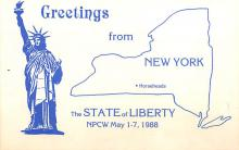 top017261 - Statue of Liberty Post Card