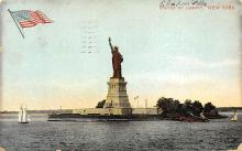 top017263 - Statue of Liberty Post Card