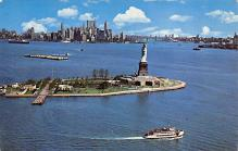 top017267 - Statue of Liberty Post Card
