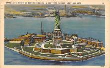 top017273 - Statue of Liberty Post Card