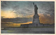 top017289 - Statue of Liberty Post Card