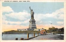 top017297 - Statue of Liberty Post Card