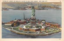 top017299 - Statue of Liberty Post Card