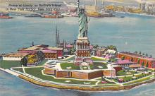 top017305 - Statue of Liberty Post Card