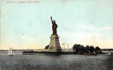 top017309 - Statue of Liberty Post Card