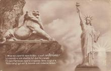top017317 - Statue of Liberty Post Card