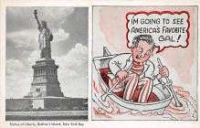 top017321 - Statue of Liberty Post Card