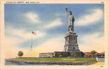 top017341 - Statue of Liberty Post Card