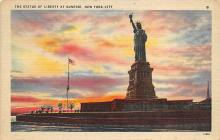 top017343 - Statue of Liberty Post Card