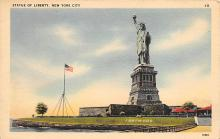 top017349 - Statue of Liberty Post Card