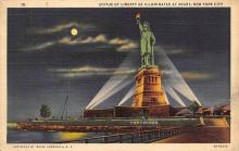top017351 - Statue of Liberty Post Card