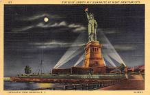 top017357 - Statue of Liberty Post Card