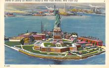 top017359 - Statue of Liberty Post Card