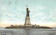 top017373 - Statue of Liberty Post Card