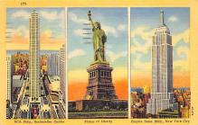top017377 - Statue of Liberty Post Card