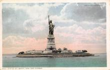 top017383 - Statue of Liberty Post Card