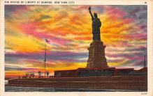 top017385 - Statue of Liberty Post Card