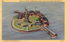 top017389 - Statue of Liberty Post Card