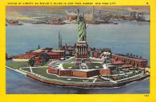 top017391 - Statue of Liberty Post Card
