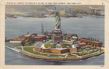 top017393 - Statue of Liberty Post Card