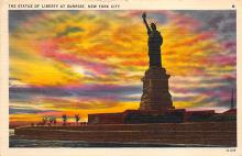 top017395 - Statue of Liberty Post Card