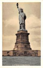 top017405 - Statue of Liberty Post Card