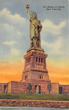 top017407 - Statue of Liberty Post Card
