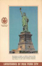 top017411 - Statue of Liberty Post Card