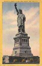 top017421 - Statue of Liberty Post Card