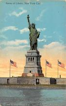 top017423 - Statue of Liberty Post Card