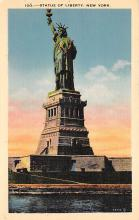 top017425 - Statue of Liberty Post Card