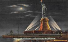 top017429 - Statue of Liberty Post Card