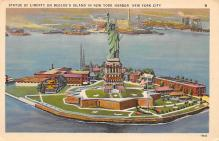 top017431 - Statue of Liberty Post Card