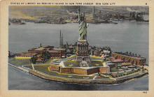 top017435 - Statue of Liberty Post Card