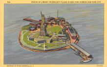top017437 - Statue of Liberty Post Card