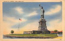 top017439 - Statue of Liberty Post Card