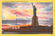 top017443 - Statue of Liberty Post Card