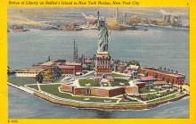 top017445 - Statue of Liberty Post Card