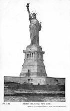 top017453 - Statue of Liberty Post Card