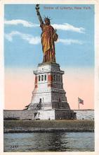 top017469 - Statue of Liberty Post Card